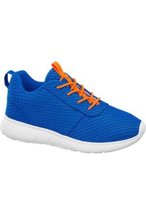 Deichmann Vty Erkek Çocuk Mavi Turuncu Hafif Taban Sneaker Ayakkabı