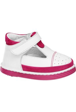 Deichmann Bärenschuhe Kız Çocuk Fuşya Beyaz İlk Adım Ayakkabısı