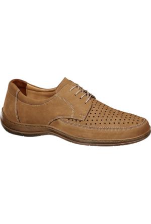 Deichmann Easy Street Erkek Bej Deri Klasik Ayakkabı