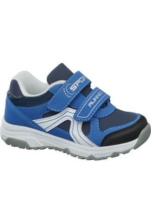 Deichmann Bobbi-Shoes Erkek Çocuk Bantlı Ayakkabı Mavi