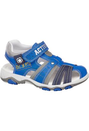 Deichmann Bobbi-Shoes Erkek Çocuk Mavi Beyaz Sandalet