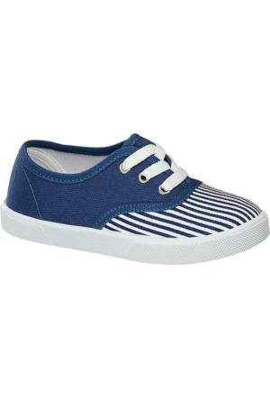 Deichmann Vty Erkek Çocuk Keten Sneaker Ayakkabı Mavi