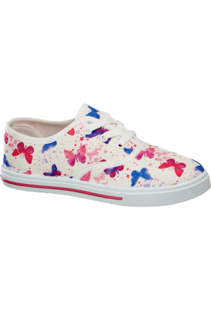 Deichmann Vty Kız Çocuk Keten Sneaker Ayakkabı Pembe
