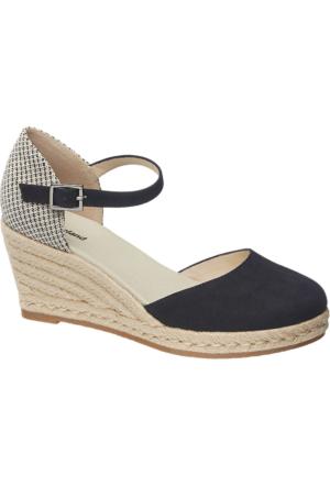 Graceland Kadın Espadril Dolgu Topuk Ayakkabı Bej