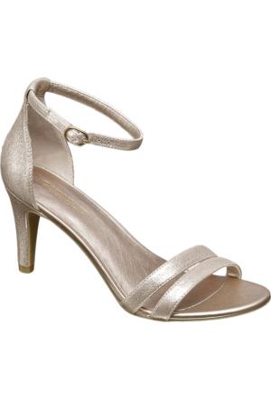 Deichmann Catwalk Kadın Topuklu Ayakkabı Altın