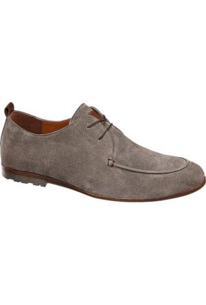 Claudio Conti Erkek Gri Klasik Ayakkabı