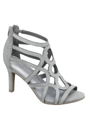 Deichmann Catwalk Kadın Gri Topuklu Ayakkabı