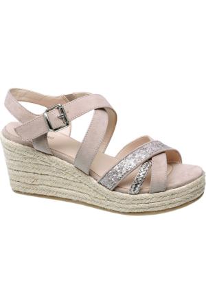 Graceland Kadın Pudra Dolgu Topuk Ayakkabı