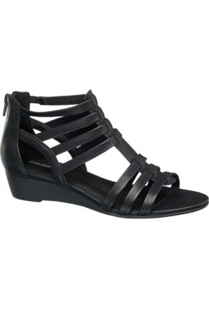 Graceland Kadın Siyah Dolgu Topuk Sandalet