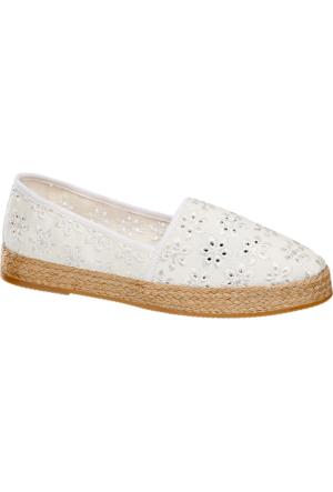 Graceland Kadın Beyaz Espadril Ayakkabı