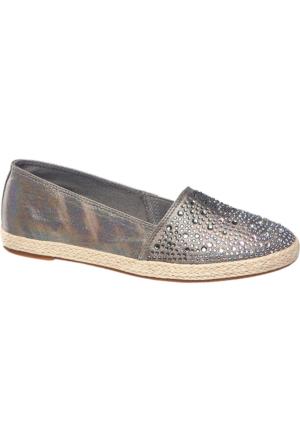 Graceland Kadın Gümüş Espadril Ayakkabı