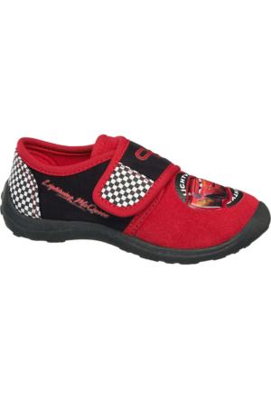 Cars Erkek Çocuk Ev Ayakkabısı Kırmızı