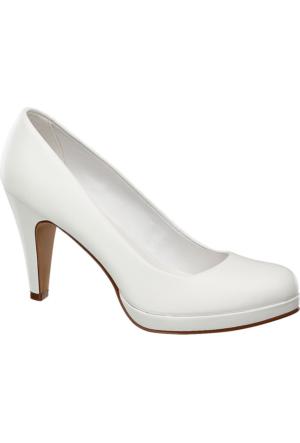 Graceland Kadın Beyaz Topuklu Ayakkabı