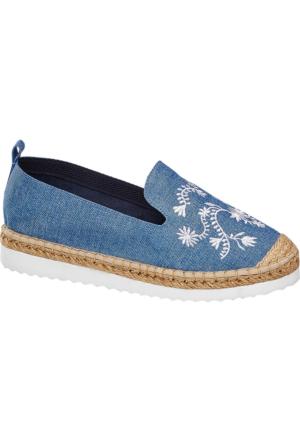 Graceland Kadın Mavi Espadril Ayakkabı