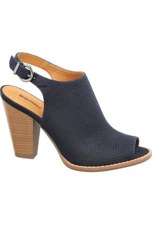 Graceland Kadın Topuklu Sandalet Mavi