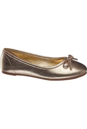 Graceland Kız Çocuk Altın Rengi Babet