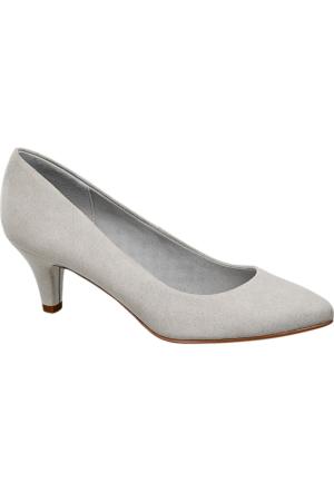 Graceland Kadın Gri Topuklu Ayakkabı