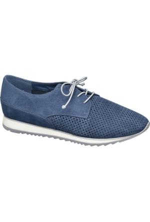 Graceland Kadın Oxford Ayakkabı Mavi