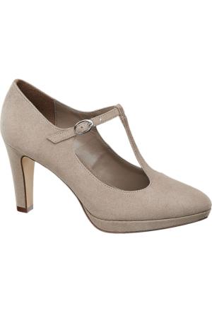 Graceland Kadın Topuklu Ayakkabı Gri