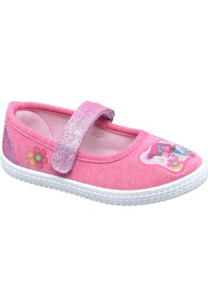 Trolls Kız Çocuk Ev Ayakkabısı Pembe
