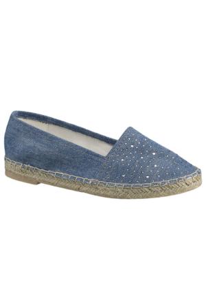 Venice Kadın Mavi Espadril Ayakkabı