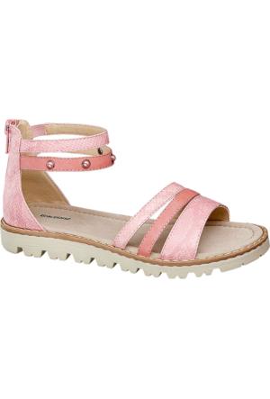 Graceland Kız Çocuk Pembe Sandalet