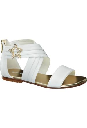 Graceland Kız Çocuk Sandalet Beyaz