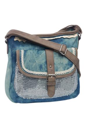 Graceland Kadın Askılı Çanta Mavi