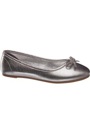 Graceland Kız Çocuk Gümüş Babet