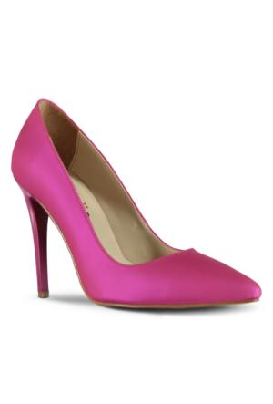 Marjin Zela Topuklu Ayakkabı Fuşya