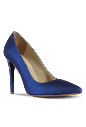 Marjin Zela Topuklu Ayakkabı Sax Mavi