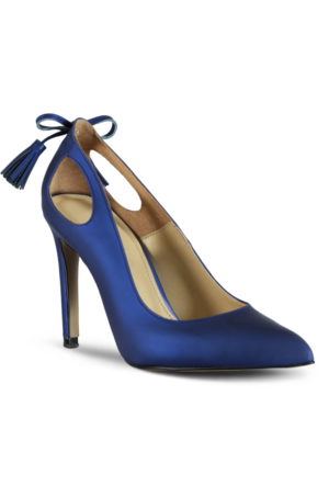 Marjin Desa Topuklu Ayakkabı Sax Mavi