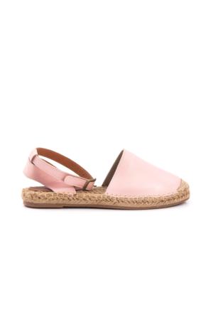 Kemal Tanca Kadın Sandalet Pudra