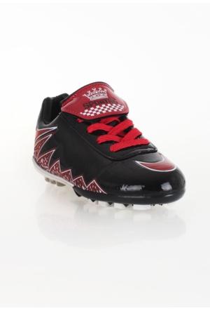 Erbilden Spr Siyah Kırmızı Erkek Halı Saha Ayakkabısı