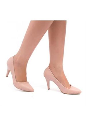 Oc Bonni Pudra Sivri Topuklu Kadın Stiletto 500