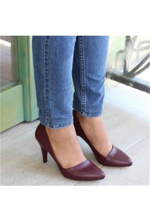 Angelbordo Kısa Topuklu Kadın Stiletto 901