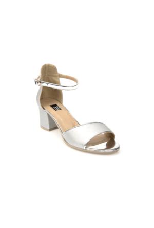 Ziya Kadın Sandalet 71128 6004 Gümüş