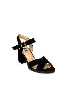 Ziya Kadın Sandalet 71128 5011 Siyah