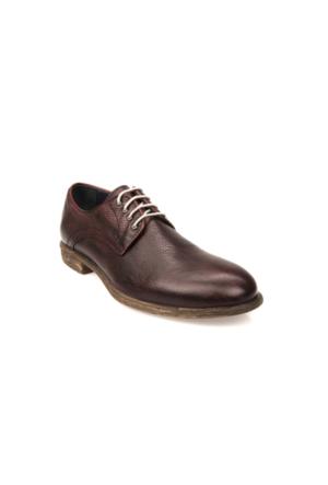 Uniquer Erkek Hakiki Deri Ayakkabı 71129U 14106 Bordo