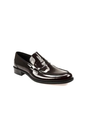 Ziya Erkek Hakiki Deri Ayakkabı 7163 2062N Bordo