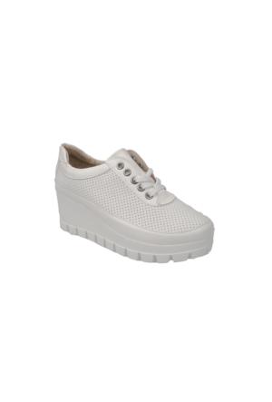 Ziya Kadın Ayakkabı 71128 9001 Beyaz