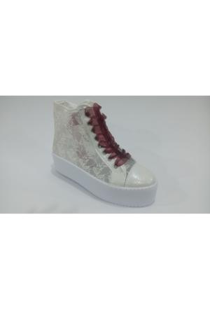 Comfort Line Bilekli Dantel Gelinlik Düğünlük Ayakkabı