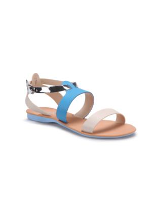 Art Bella RB001 Mavi Kadın Sandalet