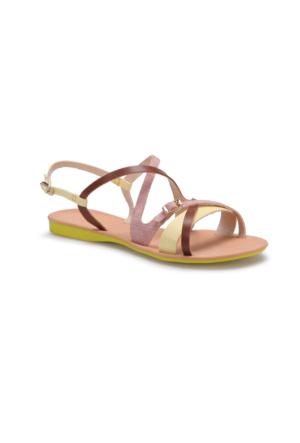 Art Bella RB002 Sarı Kadın Sandalet