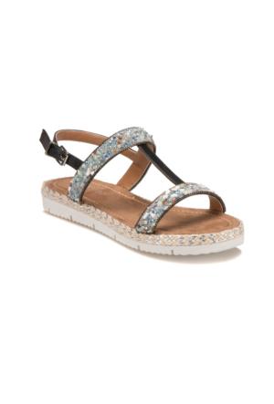 Butigo S1094 Lacivert Kadın Sandalet