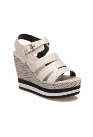 Butigo S1104 Bej Kadın Sandalet