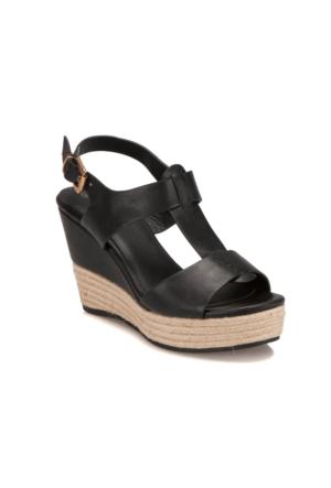 Butigo S1128 Siyah Kadın Sandalet