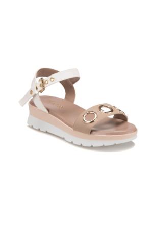 Butigo S949 Vizon Beyaz Kadın Sandalet