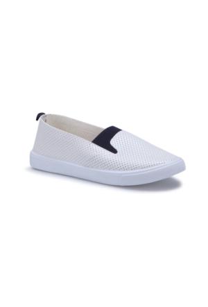 Carmens U1303 Beyaz Kadın Ayakkabı
