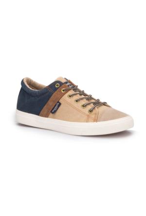 Dockers 220635 Bej Lacivert Erkek Sneaker Ayakkabı